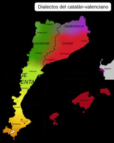 Dialectos de catalán