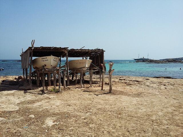 Isla de Formentera en las Islas Baleares