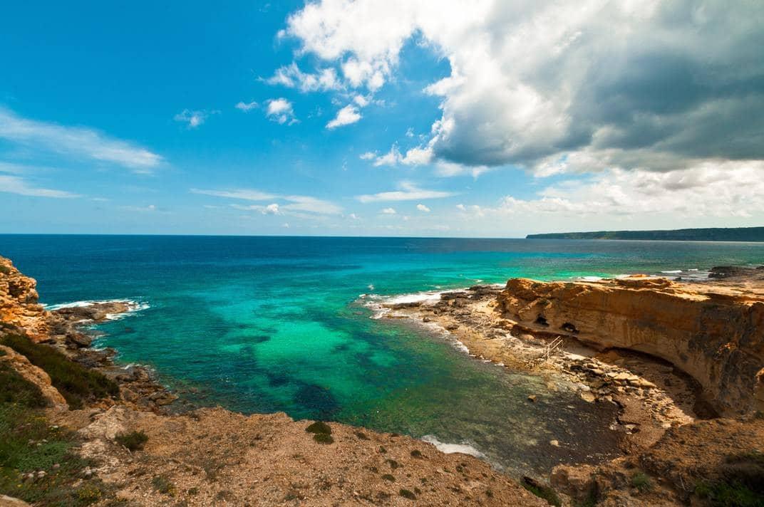 Isla de Formentera en las baleares