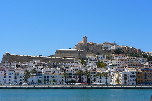 Ibiza en las Islas Baleares