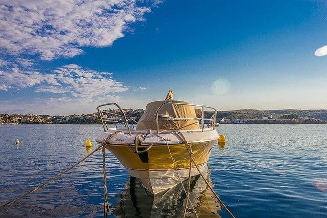 Isla de Menorca en las Islas Baleares