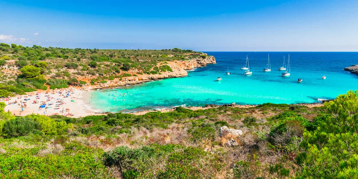 Cala Varques : plage sauvage à Majorque