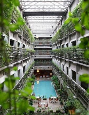 des hotels écologiques