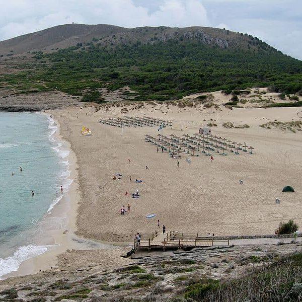 Cala Mesqida en Mallorca
