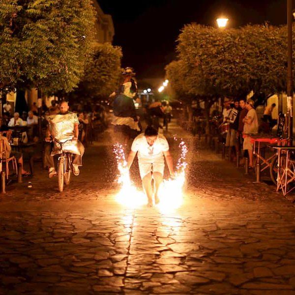 Fiesta en Alcudia