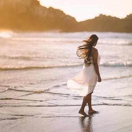 Cala aguas blancas en Ibiza