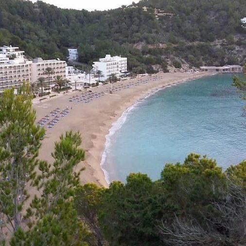 Cala sant vicente en Ibiza