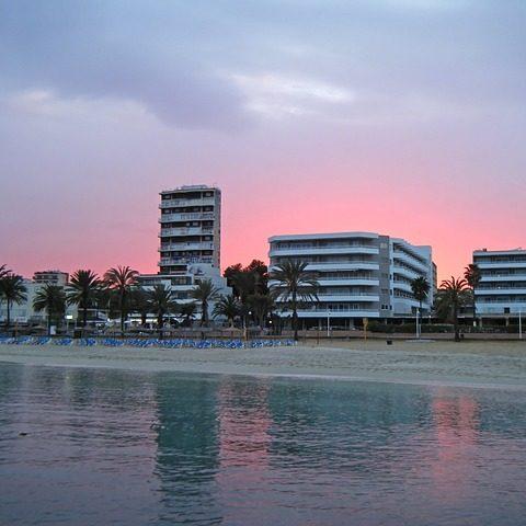 Magaluf en Mallorca