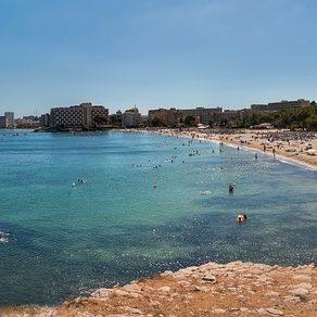 Palma Nova en Mallorca