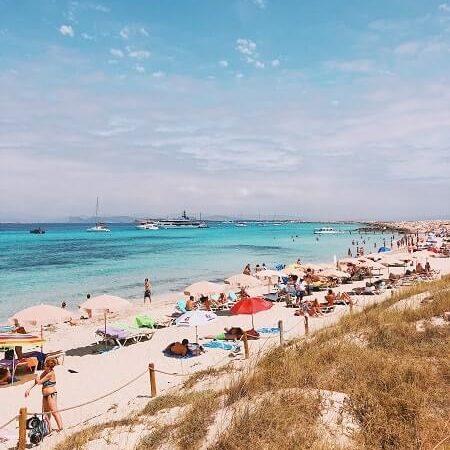 Playa de sa canyes