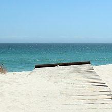 Playa de tramuntana en formentera