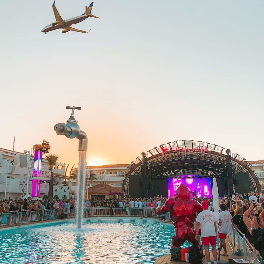 Ushuaia club Ibiza